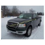 2004 Ford F-150 4X4 EXT CAB XL