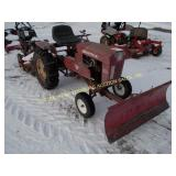 SPEED EX MODEL 1430 GARDEN TRACTOR  W/ 4