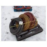 "LOT OF 3/4"" X 50"" AIR HOSE"