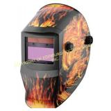 (2) BRAND NEW SOLAR POWER WELDING HELMETS