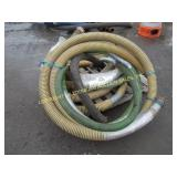 "LOT OF 3"" SUCTION HOSE"