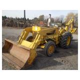 FORD 4000 BACKHOE WITH FRONT END LOADER