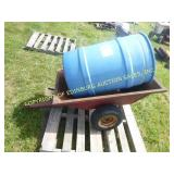 TOWABLE CART & BLUE POLLY DRUM