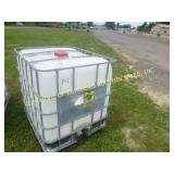 250 GALLON CAGED POLY TOTES