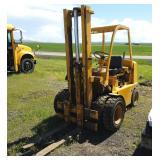 Clark Forklift, Model 1701754, Sn Qu 45, 4000lb