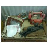Sandblasting Hood, Jump Box, Nozzle, Leather