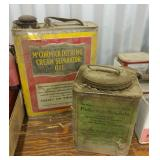 Mccormick Deering Cream Separator Oil Can,
