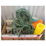Air Hoses, Bungee Net, Vintage Hand Tools,