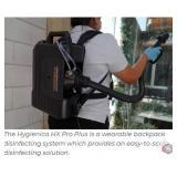 Electrostatic Disinfection Blk. Backpack Sprayer
