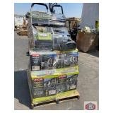Ryobi pressure washers assorted sizes and models