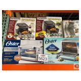 Oster and more. Two Nuwave6 qt air fryers, one
