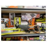 Ridgid and Ryobi. tools, roofing coil nailer,