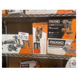Ridgid. tools lot of 4 pcs, genx 5 pc combo kit