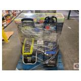 Ryobi and more. Assorted pressure washers and one