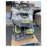 Ryobi 6 pressure washers content on the pallet