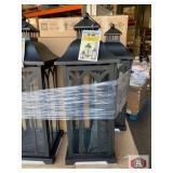 Hampton bay 30in traditional lantern 4 pieces per