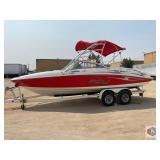 2005 Yamaha AR230 with a Trailer. This boat is