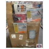 Hampton bay ventilation fan, Husky jack stand,