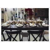 Glassware, tableware, servingware