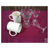 Glassware and mug