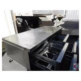 Refrigerated 4 drawer Chef Base SS NSF