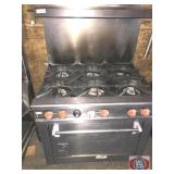 Wolf Stove Oven