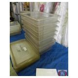 Trays with Lid Clear