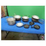 Mixed pan pot lot