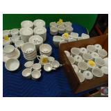 Dinnerware cups lot