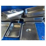 Mixed lot of SS trays inserts lid