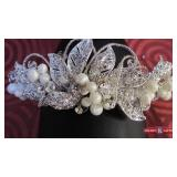 Headband. Private label by G. Beads and pearls.