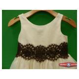 Girl Designer Dress Size 8. Brand Sweet