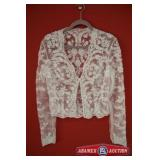 Bride Jacket Size 14. Brand N A Color White