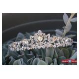 Headpiece Bridal tiara by Ava Couture. Diameter