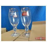 Stemware beer glass