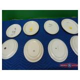 Oval and Round plates