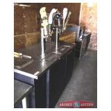 Beer Refrigerator Direct Draw Dispenser 2 door