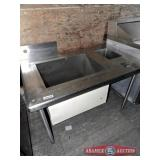 Sink produce 3 compartment