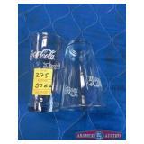 Collector Coca Cola Glass