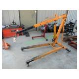 Buffalo Shop Crane w/ 8 ton Long Ram Hydraulic