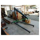 Grey Shop Crane w/ 3 Ton Long Ram Hydraulic Jack