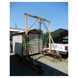 Shop-Built Gantry Crane W/ Pulley