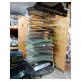 17+/- Rear Glass Windows in Group