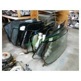 30+/-  Rear Glass Windows in Group
