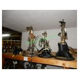 4 Assorted Steering Columns in Group