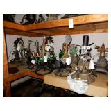 17 Assorted Steering Columns in Group