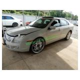 2008 Ford Fusion (starts and drives) parts title