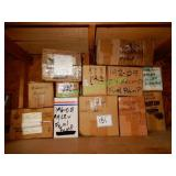 12+/- Boxes Assorted Fuel Pumps in Group