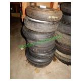 8 Misc. Spare Tires in Group