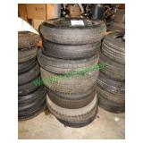 7 Misc. Spare Tires in Group